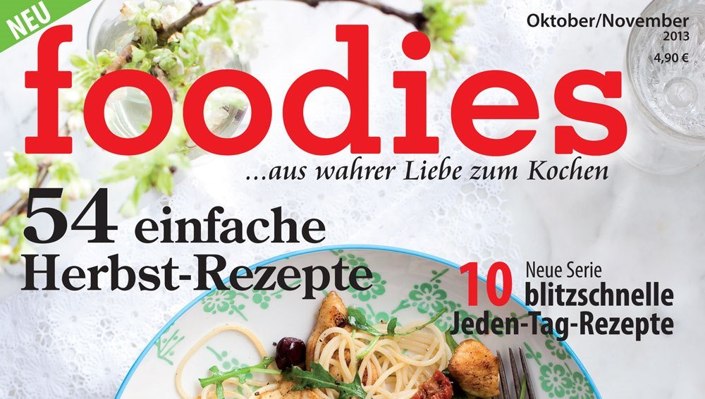 "Kochmagazin ""Foodies"""